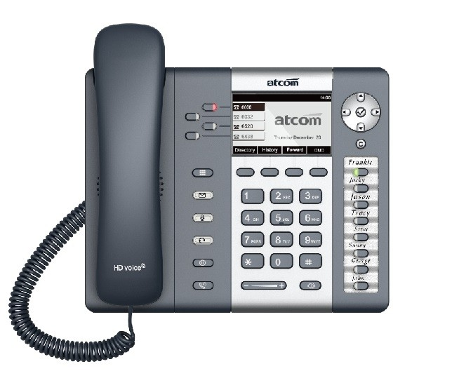 تلفن ATCOM Rainbow 2 IP PHONE