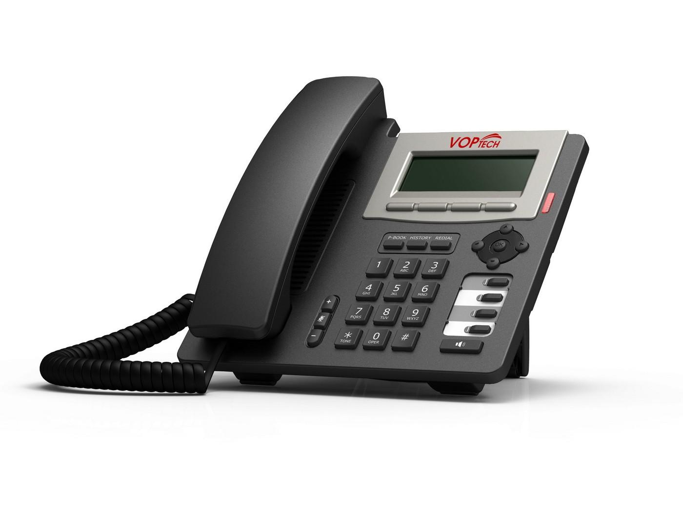 VOPTech_IP20 تلفن آی پی