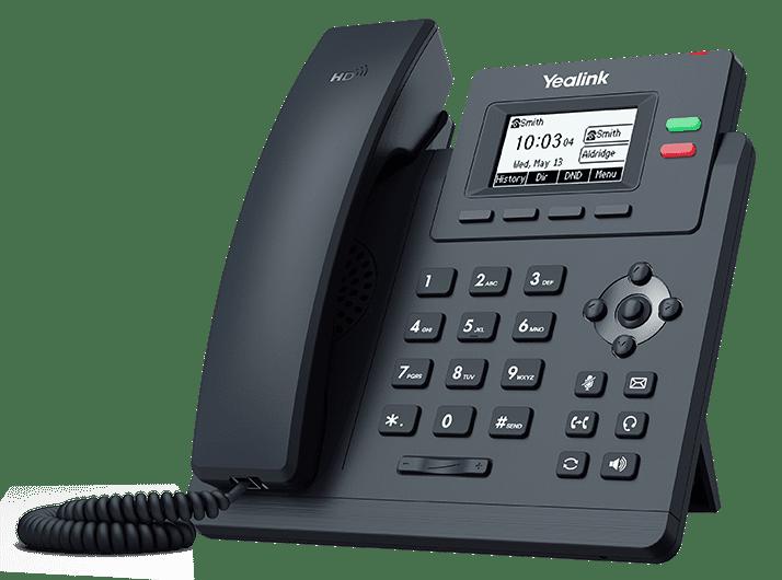 Yealink SIP-T31P یالینک    تلفن ویپ یلینک T31P