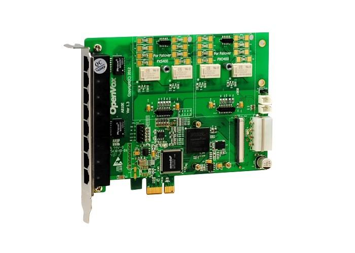 OpenVox A810E VoIP Card