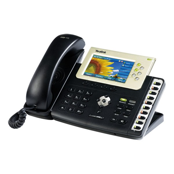 SIP-T38G IP PHONE